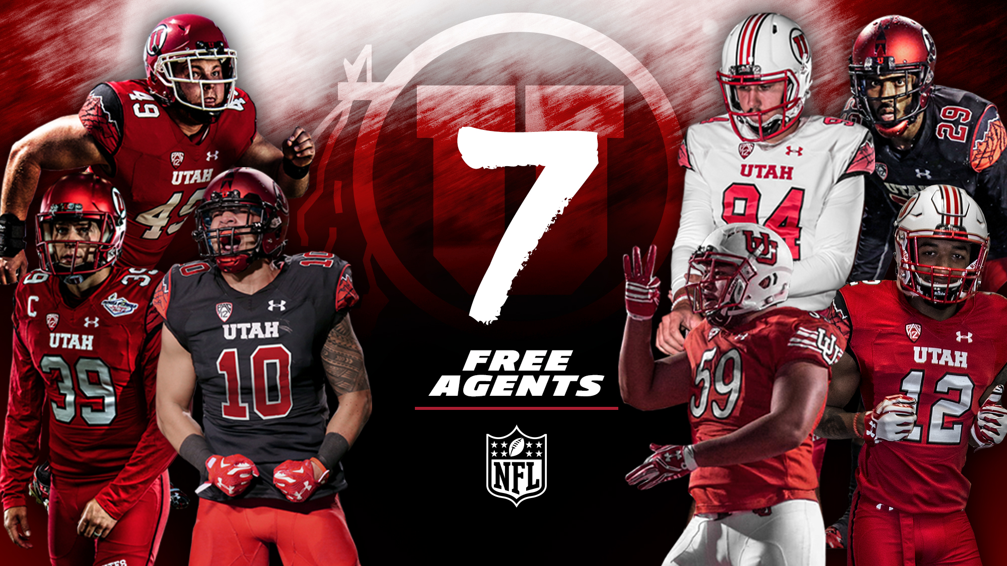 pretty nice 4eb09 244a4 Seven Utes Sign NFL Free Agent Contracts - University of ...