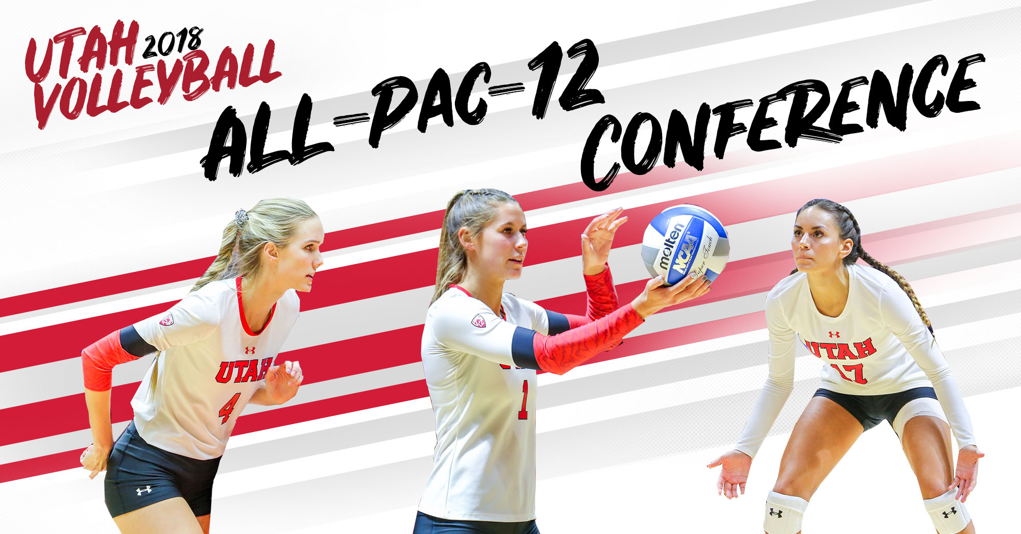 Three Utes named to Pac-12 Volleyball All-Conference Team