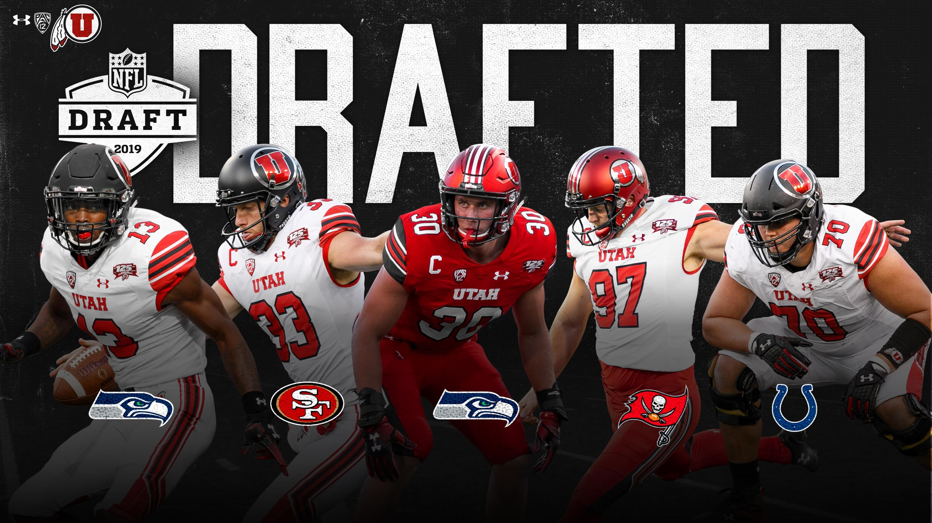 Utes Send Five To The Pros In 2019 Nfl Draft University Of